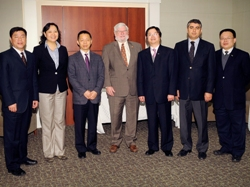 Southwest University of Political Science and Law Delegation Visit